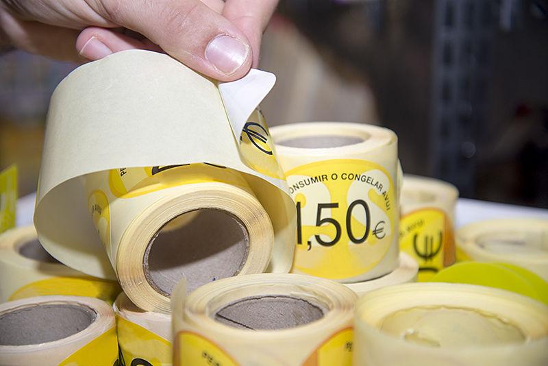 Etiqueta adhesiva antihumedad (PP)