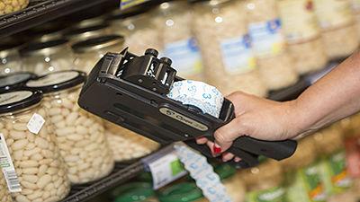 Etiquetadora manual de precios