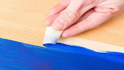 Cinta adhesiva papel crepé