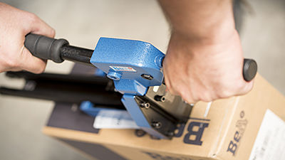 Grapadoras para cerrado de cajas de cartón