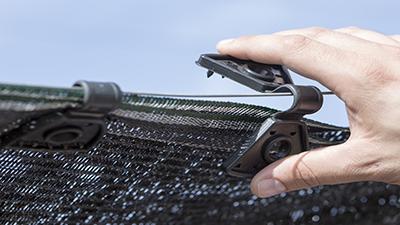Shading mesh tweezers