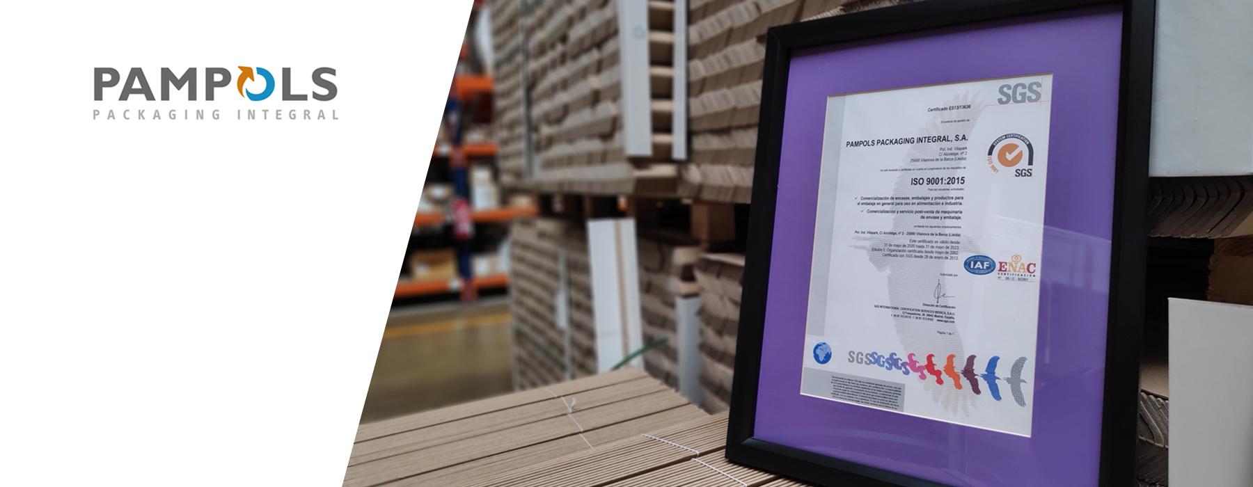 Renovadas la certificación ISO 9001 y las BRC Storage y Broker