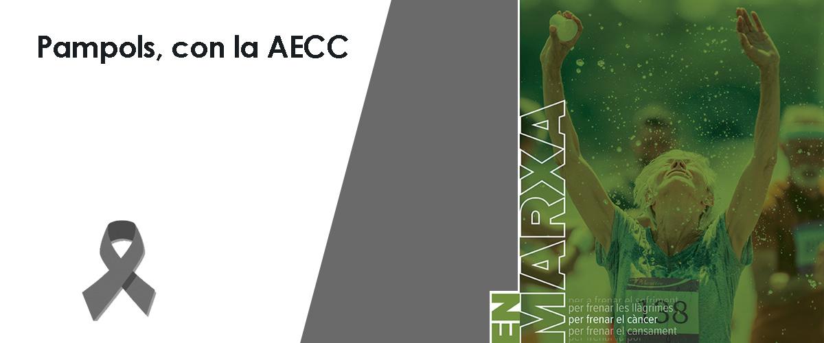 PAMPOLS, patrocinador de la Asociación Española Contra el Cáncer (AECC)