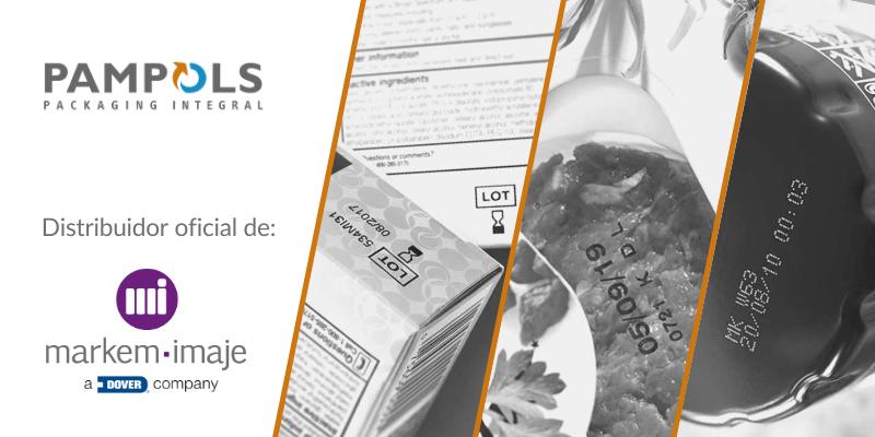 PAMPOLS, distribuidor oficial de Markem-Imaje en Aragón, Lleida y Baleares