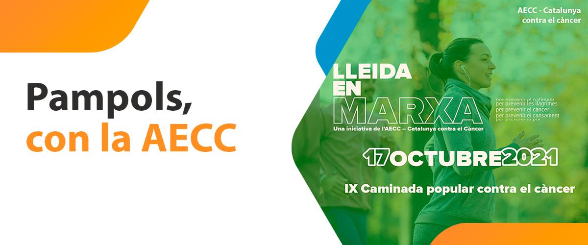 PAMPOLS, un año más patrocinador de la Asocicación Española Contra el Cáncer (AECC)